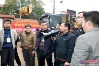 柳工农机公司与宾阳县洋桥镇建立战略合作伙伴关系