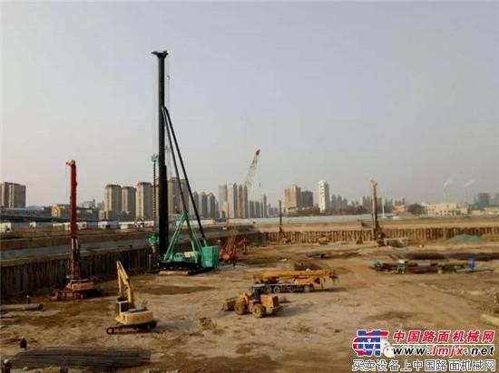 """上海金泰全套管钻机再升级 SZ80-45大连""""行其道"""""""