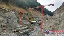 中国海外最大平头塔参建印度水电项目