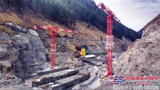 中国出口海外最大平头塔参建印度水电项目