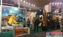 山推亮相塞尔维亚及土耳其工程机械展览会
