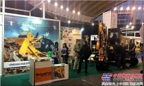 山推亮相欧洲区域工程机械展览会