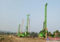 绿色精灵——定制旋挖钻机泰国完美运行