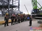 不远万里奔赴南美 中联重科130吨履带吊助建玻利维亚钾盐项目