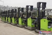 海外销售明星产品——YB16-S3座驾前移式叉车