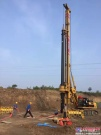 晋中龙城大街PPP项目工程,中车北京重工旋挖钻机担当大任