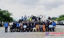 小松集团完成安哥拉地雷清除支援活动