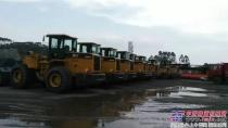 厦工装载机批量加盟粤北联合钢厂