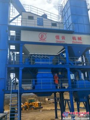 恒云科技3000型沥青搅拌设备再次入驻西藏