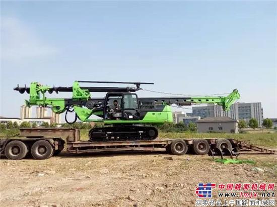 泰信机械国内首台多功能小旋挖出口澳大利亚 泰信机械小型旋挖钻