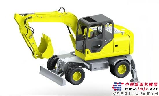 厚积薄发 领创未来 —德工新产品DG680轮式挖掘机即将荣耀