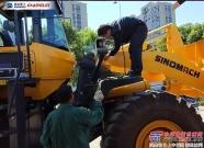常林公司海外事业部顺利完成966装载机称重系统加装
