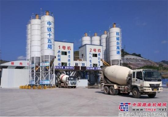 南方路机YCRP40MX型集装箱式湿混凝土回收设备应用纪实
