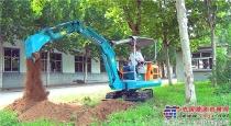 宝鼎18微型挖掘机长时间工况测试顺利上市现优惠促销中