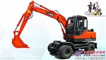小型轮式挖掘机高性能产品-宝鼎BD85W-8轮式挖掘机