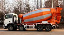 城市建设都在用水泥罐车运输拌料有哪些好处?