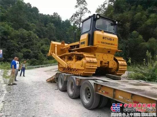 河北宣工:感谢贵州水利实业总公司的选择 河钢宣工将携电控静液