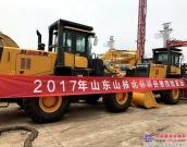 山推出口北非市场第四批设备发运