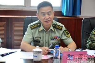 詹阳重工115台轮式高速挖掘机顺利交付武警部队