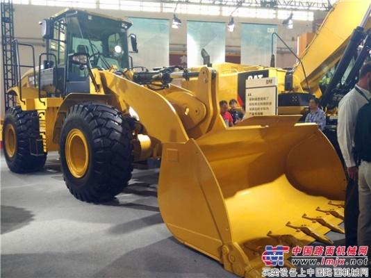 Cat(卡特)950GC轮式装载机亮相BICES 2017为中国客户带来更多终生超值的产品选择