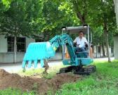 宝鼎BD23微型挖掘机产品