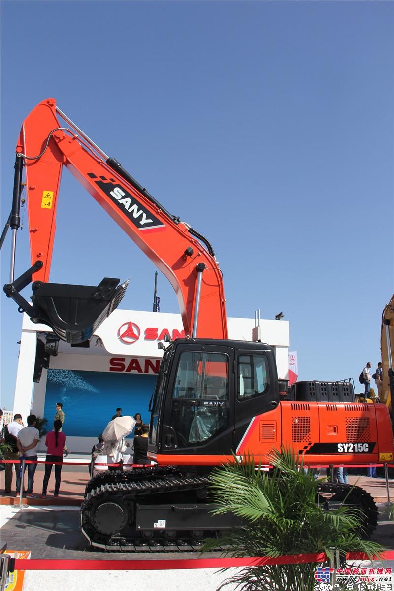 SY215C挖掘机