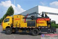 隆瑞路面热再生修补机现场热再生技术