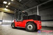 卡尔玛发布全电动中型系列叉车,再创行业第一