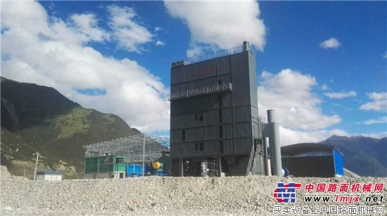 再战西藏 恒云科技HB4000型环保型沥青混合料搅拌设备将助建林芝公路