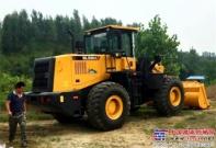 重载工况首选设备:SL56H装载机