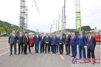 """白俄罗斯客人到访中联重科  称赞其""""制造了享誉世界的好设备"""""""