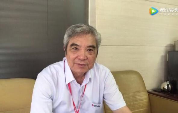 福建南方路面机械有限公司董事长方庆熙祝贺路面机械网十五周年