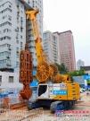 宝峨GB 50液压抓斗自由落钩显威力,南京地连墙项目无导孔高效挖入12米深中风化粉砂质泥岩