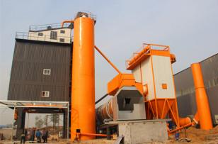 万德机械LB4000沥青搅拌设备成功落户高邑