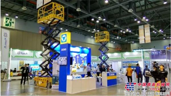 海外市场新突破 徐工高空作业平台首次进入南美