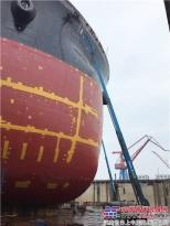 吉尼高空车助力北船重工十年跨越发展