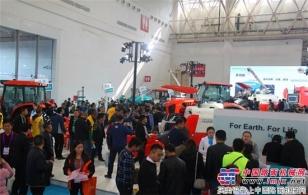 久保田全程机械化产品盛装亮相武汉农机展