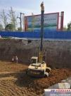 泰信小旋挖参与汉中地下综合管廊施工,助力中国特色小镇建设