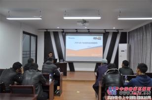 西藏自治区公路局代表赴詹阳重工参加全地形车交装培训