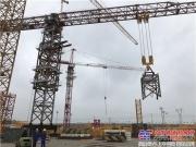 中联重科超大型塔机助建科威特航空港  创国内出口最大行走塔机新纪录
