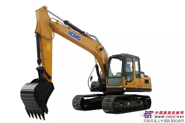 首款符合歐Ⅳ排放標準的徐工XE150U挖掘機下線