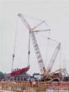 全球首创!徐工履带起重机神力吊装280吨大直径盾构机