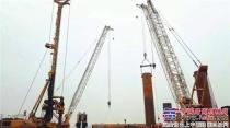 风云传奇!国内最大吨位自制底盘旋挖钻机再战长江!
