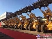 厦工XG955N新品上市暨安钢集团汽运公司交机仪式在安阳圆满举行