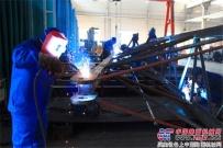未雨绸缪 陕建机铆焊一车间为2018年产品质量再提升做好准备