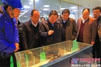 陕煤集团党委副书记尤西蒂到陕建机股份参观调研