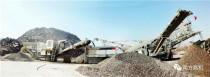 南方路机履带式破碎筛分线应用于山东临沂市政施工