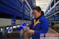 陕建机股份物管中心赵丽霞:甘做螺丝钉
