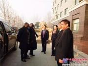 加蓬共和国驻华大使至恒特重工参观考察