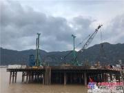 上海金泰SH46温州七都大桥挑战大口径百米水中墩桩